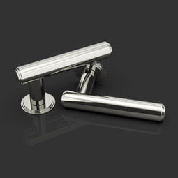 Ginglain Lever Handle in Polished Chrome